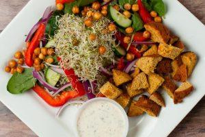 Drink Your Veggies - Falafel Salad - 0010